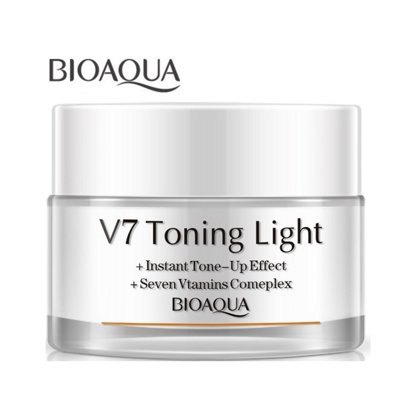 Bioaqua V7 Toning Light Cream Price In Bangladesh Bd 50 Gm