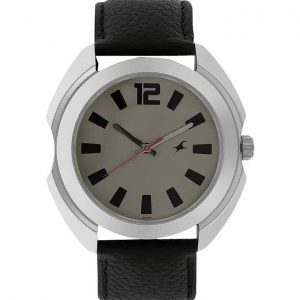 Fastrack Leather Analog Watch