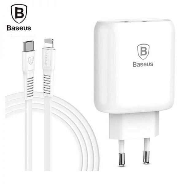 Baseus Bojure Series 32W PD Quick Charger Set (Adapter + PD Cable)