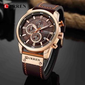 CURREN 8291 leather Sports Watches