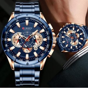 CURREN 8363 Fashion Men Watches