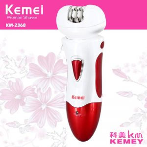 Kemei KM-2368 3 IN 1 HAIR REMOVER, EPILATOR, SHAVER AND TRIMMER