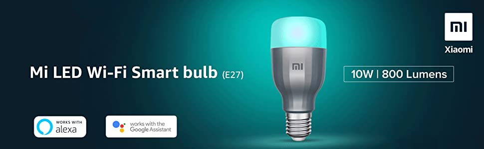 Xiaomi Mi Smart LED Smart Bulb Essential (White and Color)