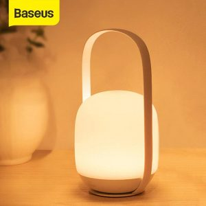 Baseus Moon White Series Knob Stepless Portable Lamp