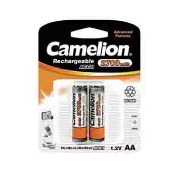 Camelion AA 2700mAh Rechargeable 2 Cell Battery Pack