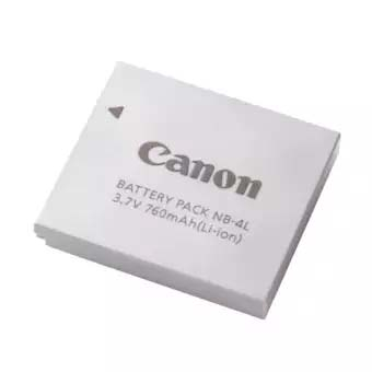 Canon NB-4L Lithium Ion Digital Camera Battery