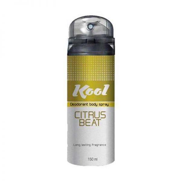 Kool Deodorant Body Spray (Citrus Beat)-150 ml