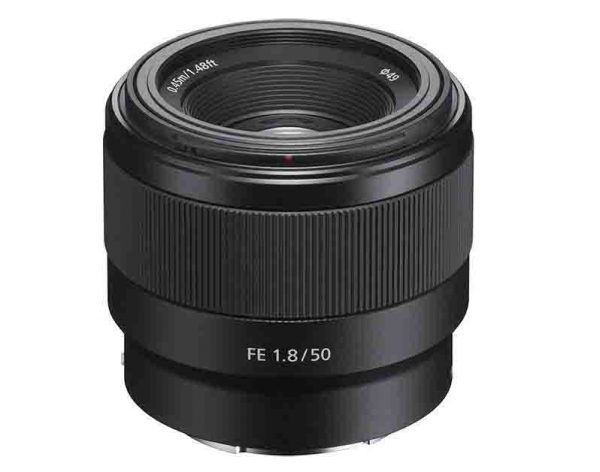 Sony FE 50mm f1.8 Full Frame Lens