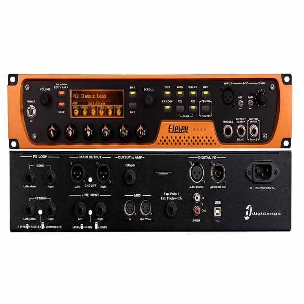 Avid Digi design Eleven Rack Audio Interfac