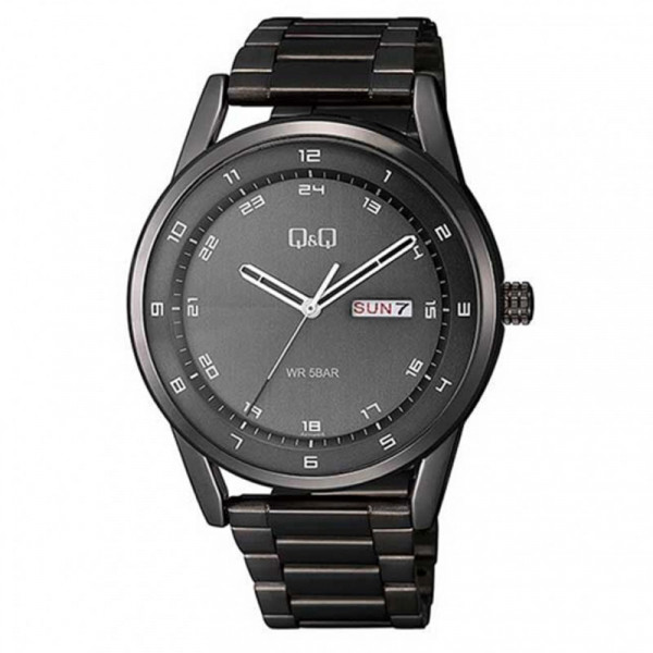 Q&Q A210J405Y Analog Day Date Wrist Watch for Men