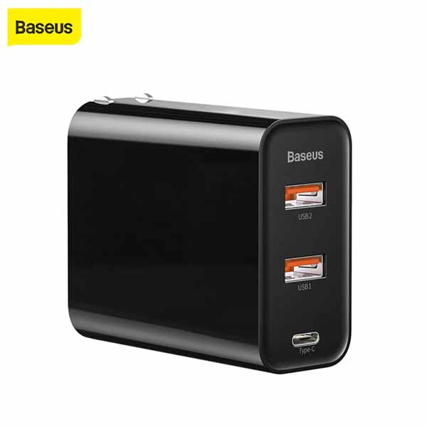 BASEUS 60W PPS Three-port Quick Charge