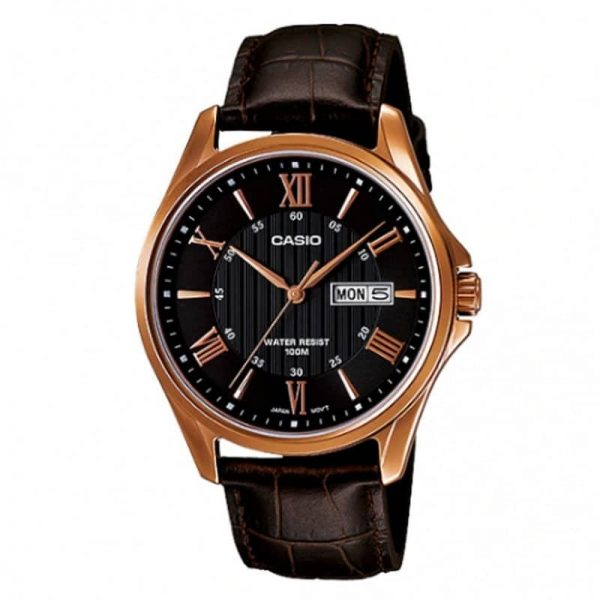 Casio MTP-1384L-1AVDF Day-Date Analog For Men
