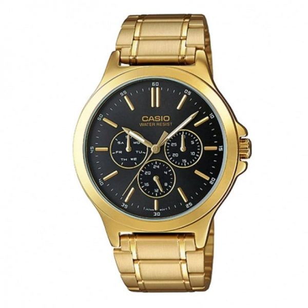Casio MTP-V300G-1AUDF Chronograph Watch For Men