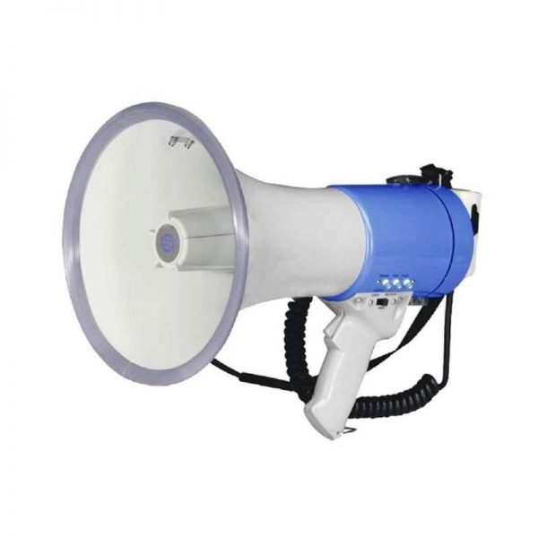 Hand Mike Phone 25W Megaphone with Built-in Siren