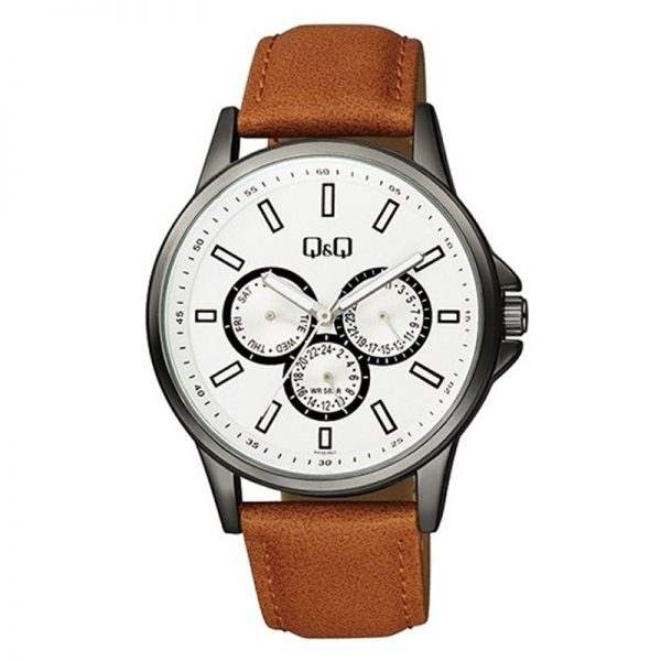 Q&Q AA32J501Y Analog Chronograph Wrist Watch