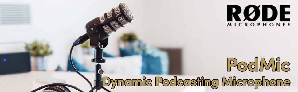 Rode PodMic Dynamic Podcasting Microphone 4