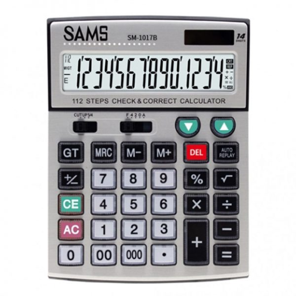 SAMS SM-1017B Desktop Calculator
