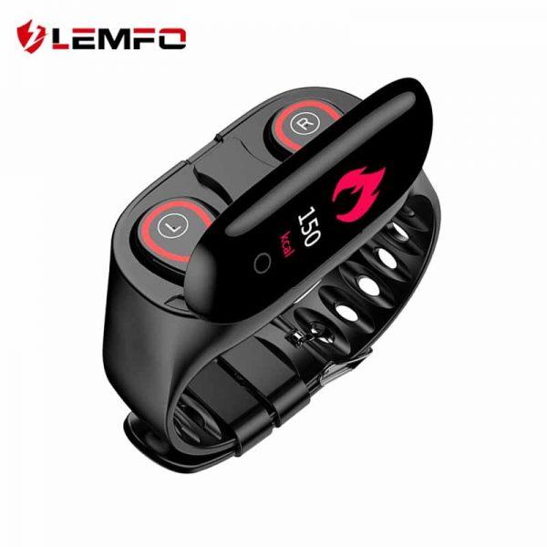 Lemfo M1 Smart Watch With Bluetooth Earphone