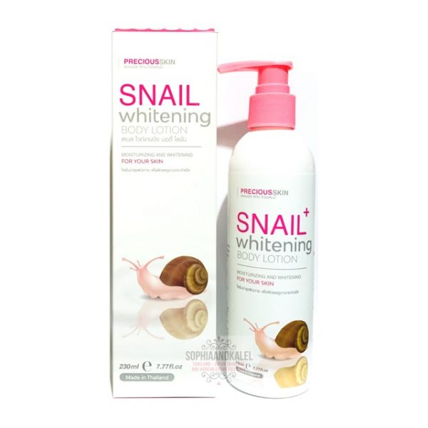 Precious Skin Snail Whitening Body Lotion 230 ml