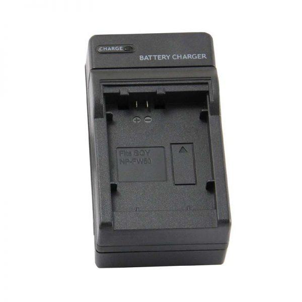 Sony NP-FW50 Charger for Sony Alpha a6500 a5100 A7R II a6300 ILCE-6000L ILCE-6300 NEX-5 A7 a6000 A7sii a3000 A7 II ILCE-6500 NEX-7 DSC-RX10 III NEX-6