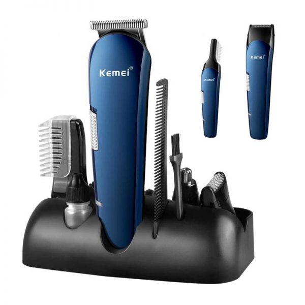 Kemei KM-550 Rechargeable 8 in 1 Hair Trimmer