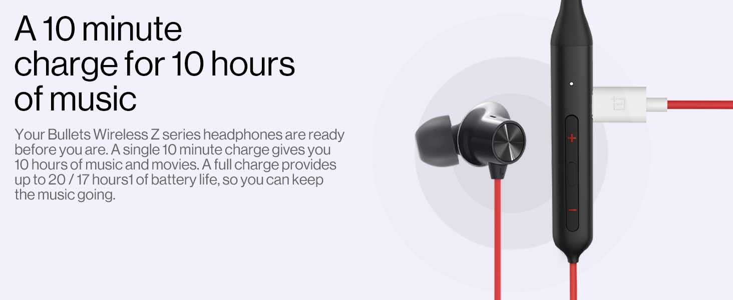 OnePlus Bullets Wireless Z Bass Edition (Reverb Red) 2