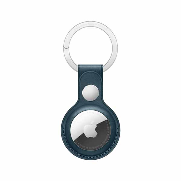 WIWU Leather Key Ring For Airtag