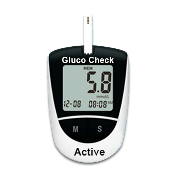 Gluco Check Active Blood Glucose Meter 1