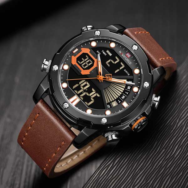 Naviforce NF 9172 Military Dual-Time Watch 3