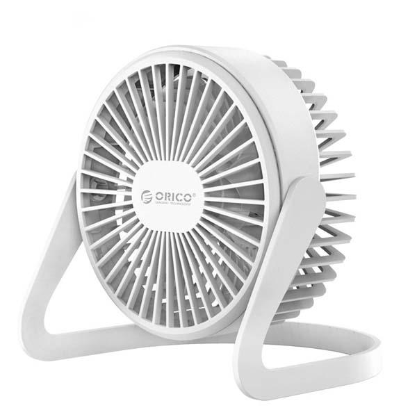 ORICO FT1-2 Mini Desk Fan-White Best for Cooling 1