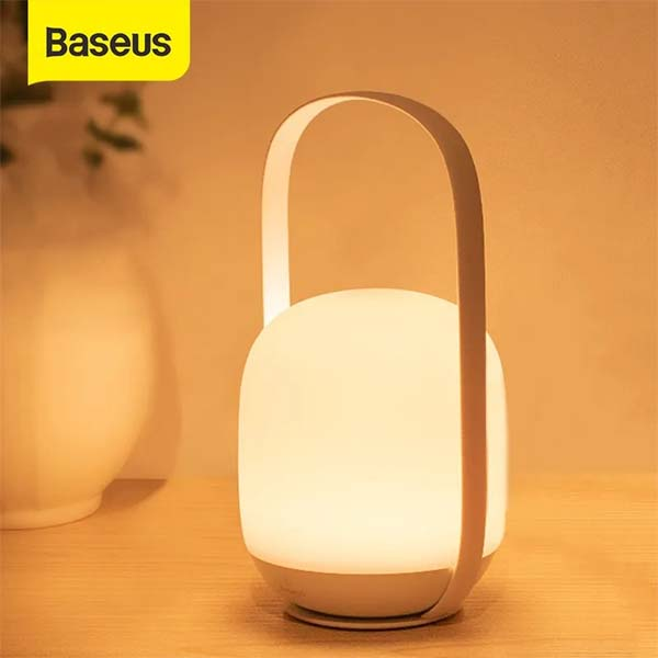 Baseus Portable Night lights 3000-5000K Stepless Dimming Table Lamp Bedside Lamp 1