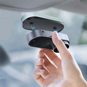 Baseus Solar Car FM Transmitter Bluetooth 5.0 Wireless Handsfree FM Modulator USB Car Charger Aux Bluetooth Audio MP3 Player 8