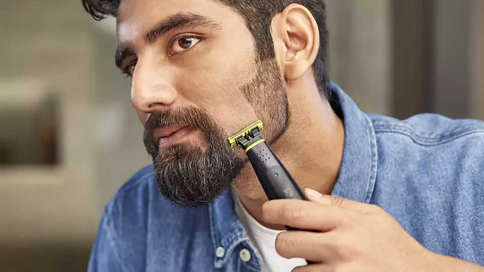 Philips QP2512-10 OneBlade Face Trimmer 5
