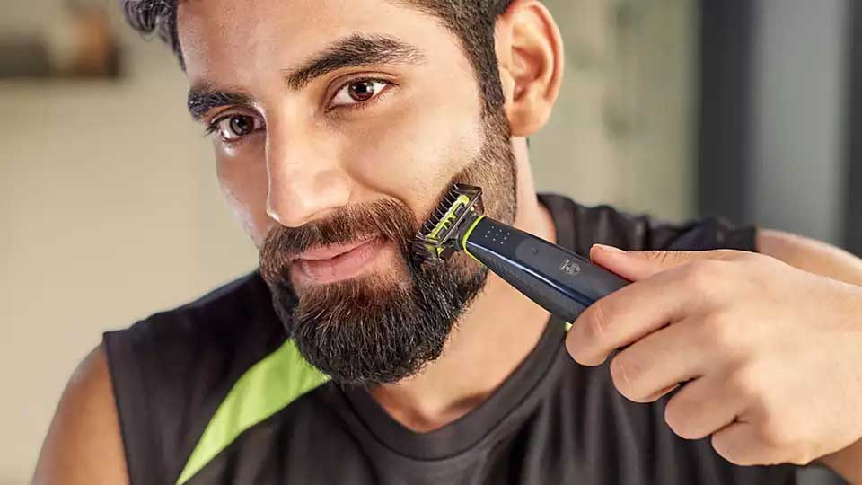 Philips QP2512-10 OneBlade Face Trimmer 6