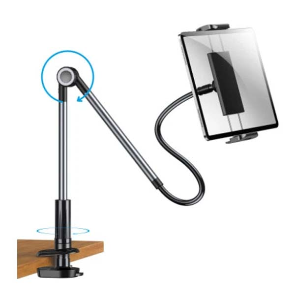 Universal Lazy Long Arm 360° Adjustable Clamp Bracket Stand 1