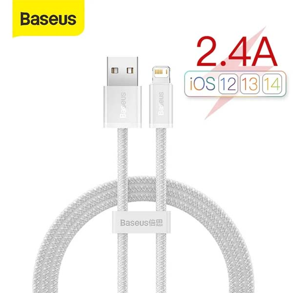 Baseus Dynamic Series 20W Fast Charging Data Cable USB to Lightning Cable For Iphone 11 12 13 2.4A 1m 1